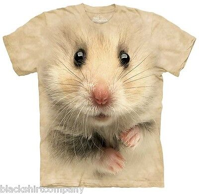 The Mountain T-Shirt Hamster Face