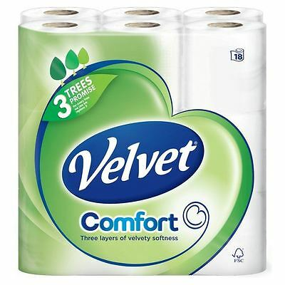 TRIPLE VELVET 10 x 4-PACK WHITE 40 rolls