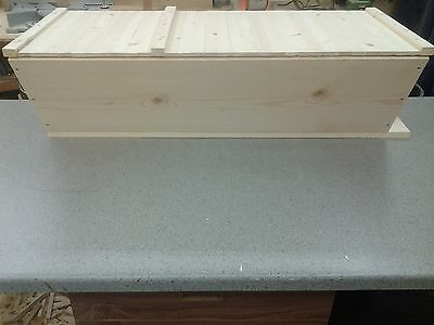 Bee Hive, Top Bar with 30 Top Bars Backyard Bee Keeping Hive