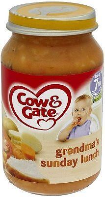Cow & Gate 7 Months Sunday Lunch Jar 6X200G