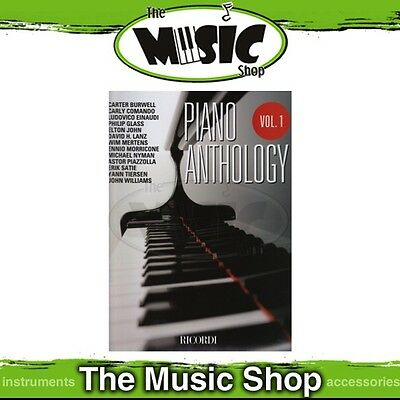 New The Piano Anthology Volume 1 Music Book - Piano Songbook