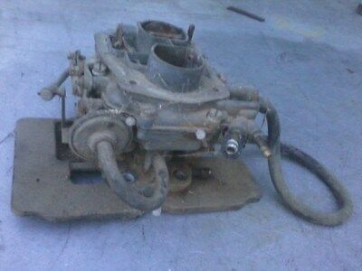 Fiat 128 Carburetor and Aluminum Intake Manifold