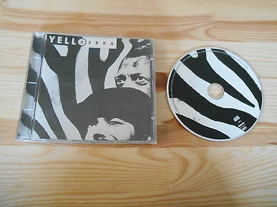 CD Pop Yello - Zebra (11 Song) PHONOGRAM / MERCURY