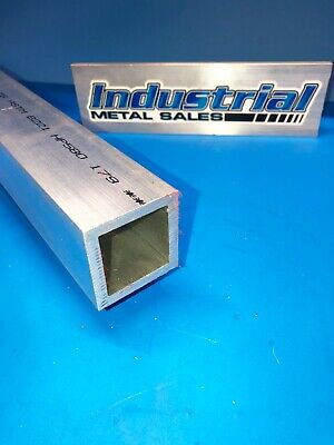 "2"" x 72""-long x 1/4"" Wall 6061 T6 Aluminum Square Tube-->2"" x .250"" wall"