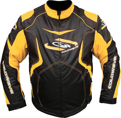 Coldwave 2015 Sno Fire Mens Snowmobile/Winter Jacket *Black/Yellow*