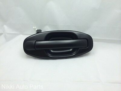 Rear Right Black Outside Door Handle for Hyundai Santa Fe for 2001-2006