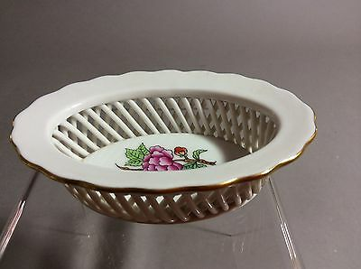 Herend Queen Small Basket Tray 7380/ETON