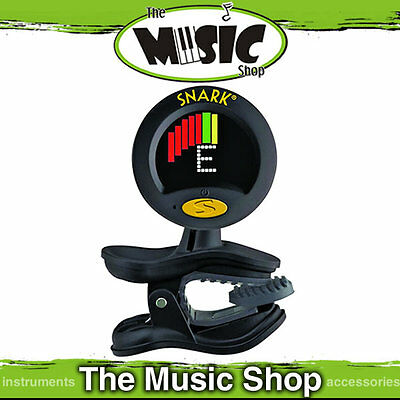 Snark SN8 Super Tight Clip On Chromatic Instrument Tuner & Metronome -WSN8 Black