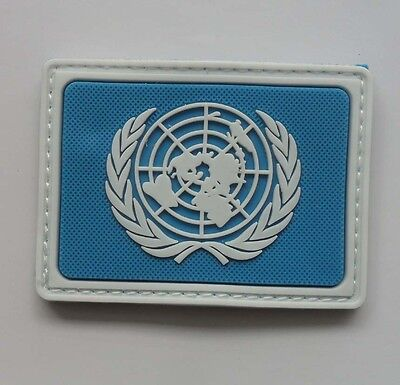 NEW UNITED NATIONS Peacekeeping troops LOGO   Patch    SJK+ 167