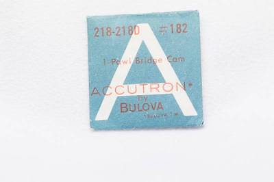 Genuine NOS Bulova Accutron Cal 218-218D Part No 182 Pawl Bridge Cam