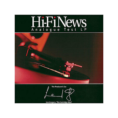 Hi-Fi News Test Record | The Producers Cut Latest Edition | 180G Vinyl
