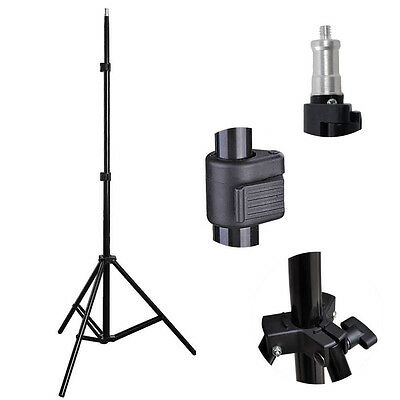 2.10m Photography Softbox Umbrella Lighting Stand Adjustable Light Stand Tripod