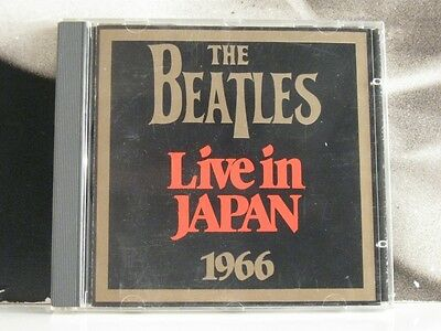 The Beatles - Live In Japan 1966 - Cd Near Mint 1987 Contact Records