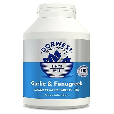 Dorwest Herbs Garlic and Fenugreek x 500, fast dispatch