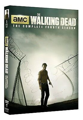 The Walking Dead: The Complete Fourth Season 4 (DVD, 2014, 5-Disc Set)