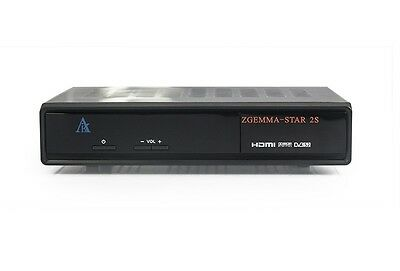 New Zgemma Star 2S Satellite Receiver Twin Tuner DVB-S2 Linux Enigma 2 OpenATV