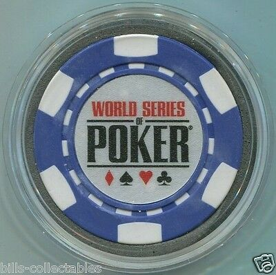 WORLD SERIES OF POKER Card Guard Protector - Blue WSOP