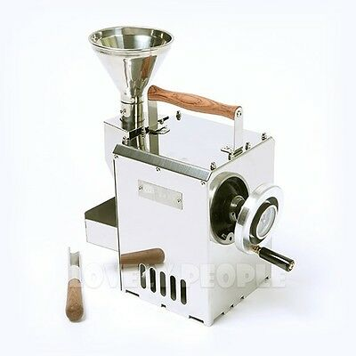 [Kaldi] Home Coffee Bean Roaster Hand Operated Full SET w/ Hopper, Scoop / New