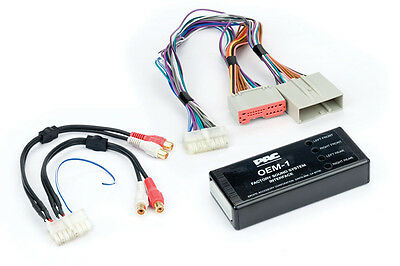 PAC AOEM-FRD24 Amplifier integration interface for Ford, Lincoln, Mercury