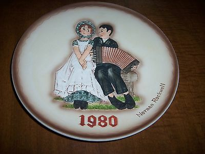 1980 LOVERS ROCKWELL PLATE