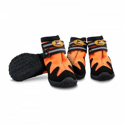 All for Paws Outdoor Dog Shoes Dog Boots All Road Orange Small