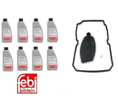 8-Liters Mercedes Automatic Transmission Fluid OE Spec 236.14 & Filter Kit