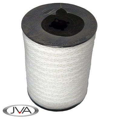 Electric Fence Politape / Poly Tape, 12mm width, 200m roll, White
