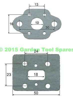 Carburettor Gasket Set To Fit Various 26Cc Strimmer  Hedge Trimmer Brush Cutter