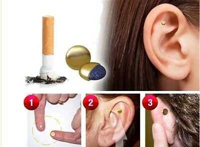 Aimant Anti Tabac Quit Smoke Magnet Auriculaires pour Renoncer au tabac