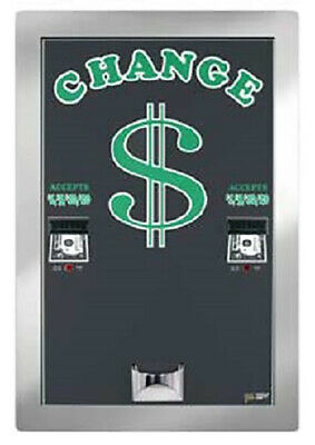 American Changer - AC2225 Bill Changer - Rear Load/Dual Hopper
