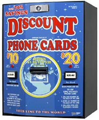American Changer - AC502 Phone Card Vending Machine