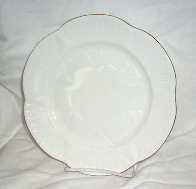Shelley Dainty White Regency  Dinner  Plate