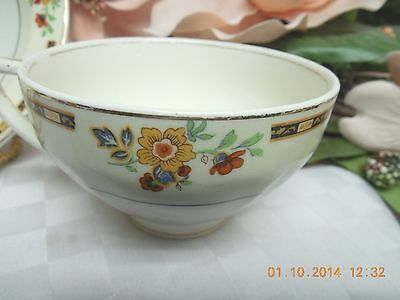 W H Grindley China Dinnerware England  Ellesmere Ivory Cup