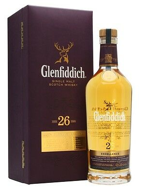 Glenfiddich Excellence 26 Year Old Single Malt Scotch Whisky 700ml