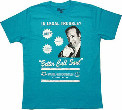 BREAKING BAD - Call Saul:T-shirt - NEW - MEDIUM ONLY