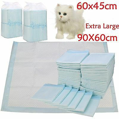 200 60X45Cm Large Puppy Training Trainer Pads Toilet Pee Wee Mats Pet Dog Cat
