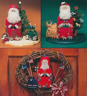 Fanci That ~ RED, WHITE, BLUE & SANTA TOO! ~ OOP Leaflet ~ christmas XS charts