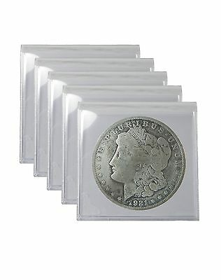 Silver Morgan and Peace Dollar Cull Lot of 5  Free Shipping