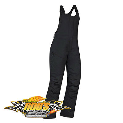 NEW 2015 SKI-DOO LADIES TRAIL HIGHPANTS BIBS BLACK SMALL 4414800490