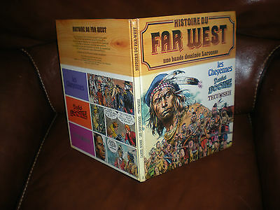 Histoire Du Far West En Bd N°2 - Edition Originale 1981 Larousse Cartonnee