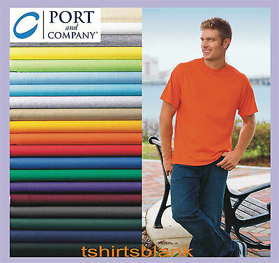 Bulk Lot of 120 Color or 150 White Plain Blank T-Shirt Solid Wholesale 200
