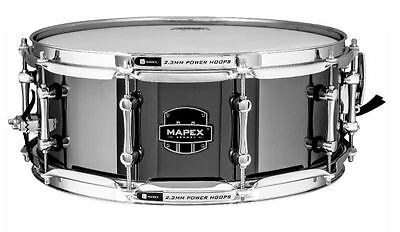 """Mapex Armory Tomahawk Snare Drum 14x5.5"""" Steel ARST4551CEB"""