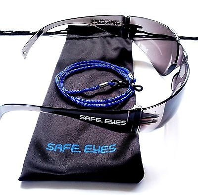 Bifocal readers Safe Eyes Safety Glasses Clear or Sunglasses   free pouches