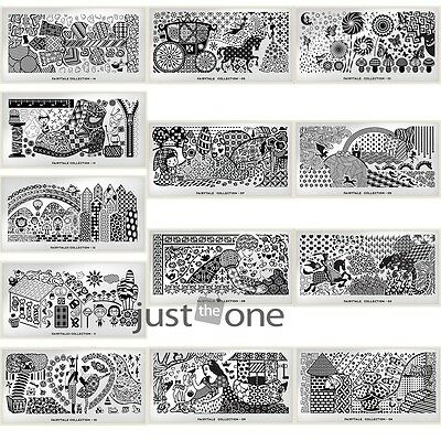 Nail Art DIY Image Stamping Steel Plates Manicure Template Art Tools 32 Types