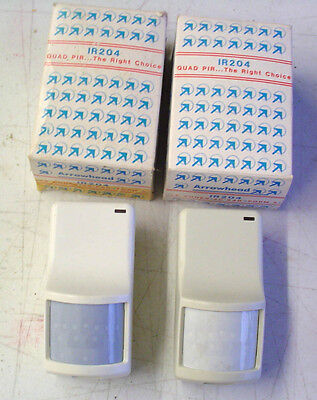 ONE- Arrowhead IR204 Quad  Motion Sensor NEW OLD STOCK! FREE USA S/H