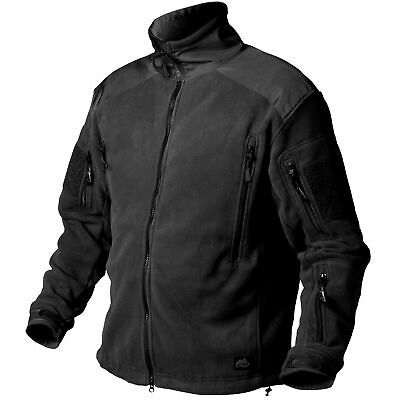 Helikon Tex Liberty Heavy Fleece Jacket Jacke Black / Schwarz Outdoor - 390g/m2