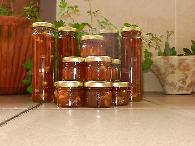 ~ Organic Fruits JELLY JAMS ~ 1 or 6,5 oz   Apple with Moscatel Wine