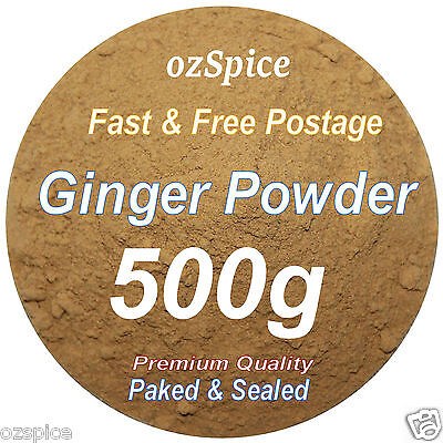 Ginger Powder 500g - ozSpice - Herbs Teas Chillies & Spices