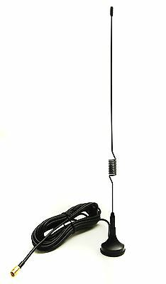DAB Aerial for Car Radios with SMB fitting - Magnetic - 28cm - High Gain Antenna