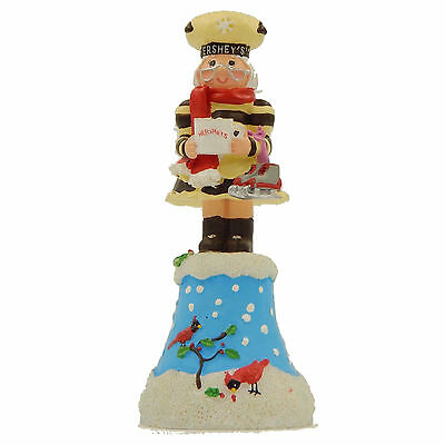 Hand Bell Mrs Hershey Chocolate Christmas Winter Holiday Retired Collectible